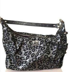 Authentic Coach Cheetah Print Handbag